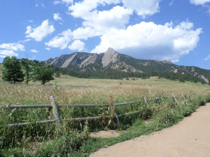 "Chautauqua Park in Boulder. ""Chautauqua"" is an Iroquois word that can mean ""two moccasins tied together"" or ""bag tied at the middle"" or ""where the fish are taken out"" or ""jumping fish."" Seriously. Look it up."
