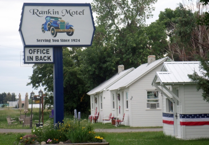 Rankin Motel in Ashton, Idaho.