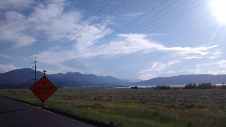 Be prepared to stop... and admire Idaho.