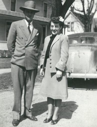 1945 - Floyd & Jackie Siver