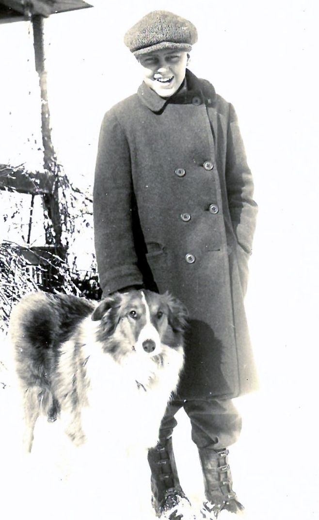 1930s floyd and old jack the dog