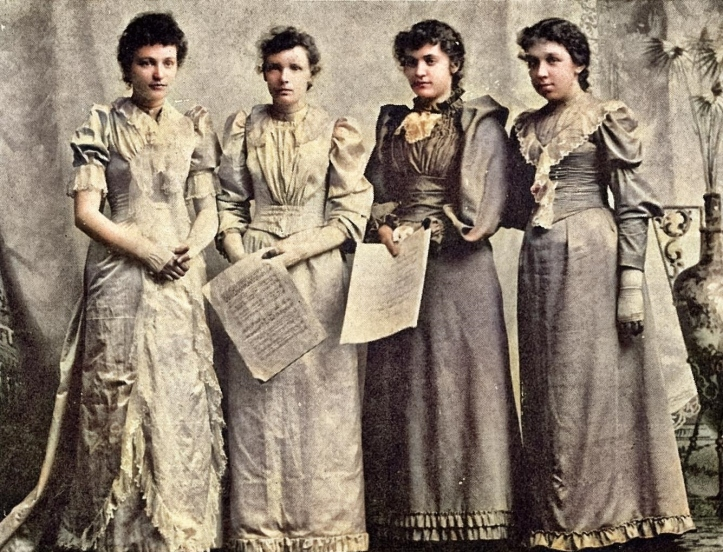 1892 circa - women's quartette