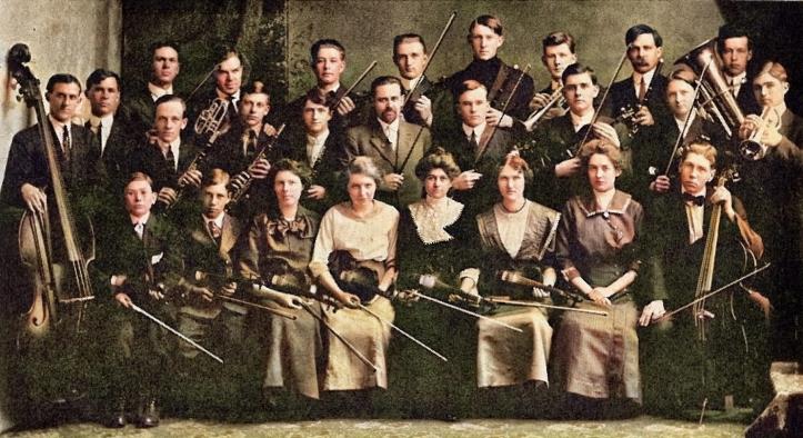 1913 university orchestra