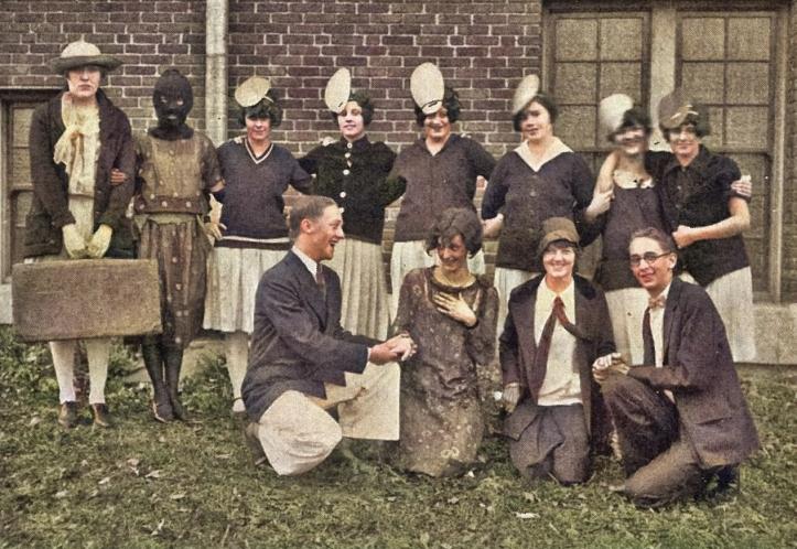 1926 class homecoming stunt - soph