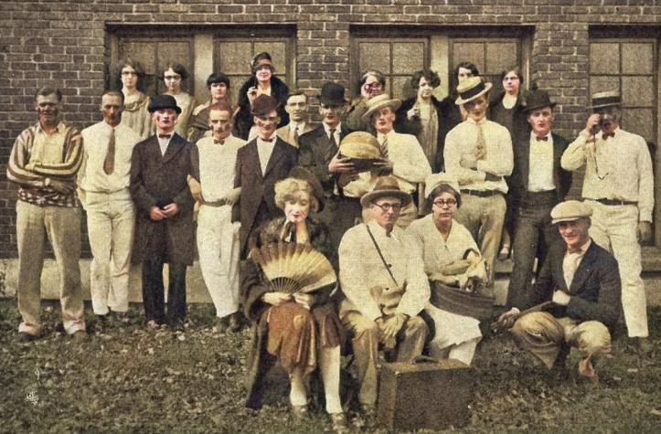 1926 class homecoming stunt - sr