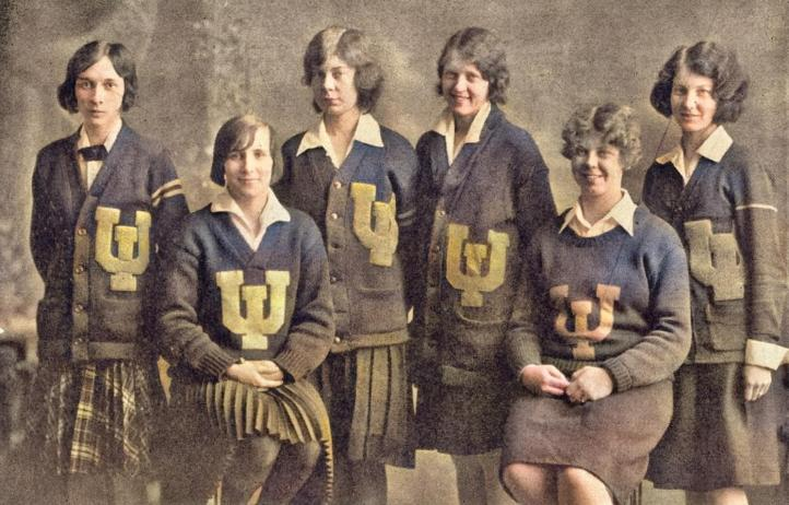 1929 waa womens athletic assoc board